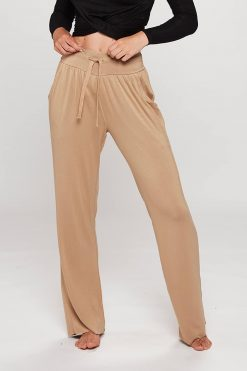 Carite High Waist Pants Cornstalk