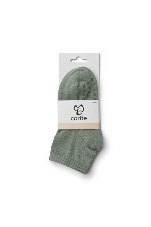 Carite Stretch Yoga Sock Capulet Olive