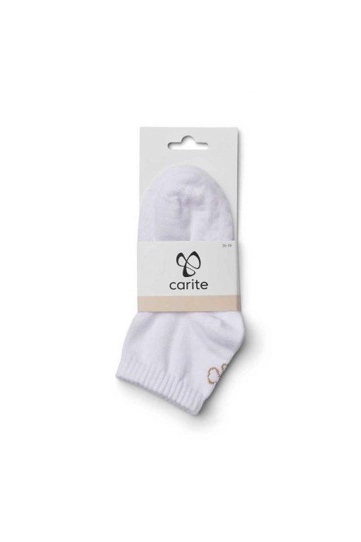 Carite Stretch Yoga Sock White